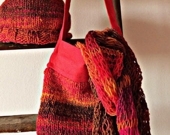 Handmade wool bag