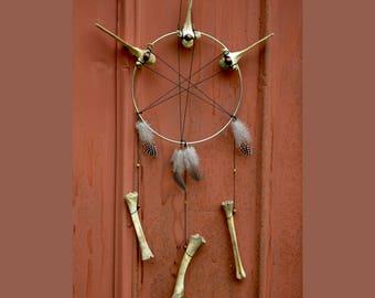 Deer Bone Dreamcatcher
