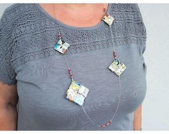 Cartoon necklace