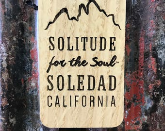 Wooden Soul of California Magnet Soledad for the Soul Central Coast California