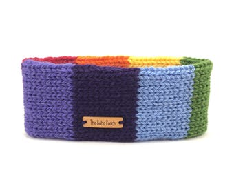 Rainbow - Pride - Gay pride - LGBT - Dog clothes - Dog clothing - LGBTQ - LGBT pride - Dog scarf - Dog clothes knitted - Dog accessories