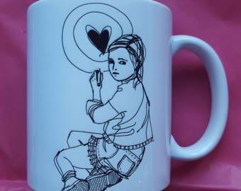 "Mug ""HEART"""