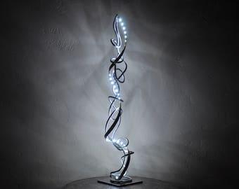 luminaire,lampe de salon moderne,design a LED blanc froid