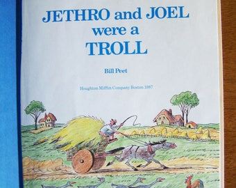 Jethro and Joel Were a Troll by Bill Peet - Children's Book - Stories That Rhyme