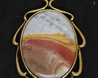 Willow Creek Jasper Pendant with great pattern and color