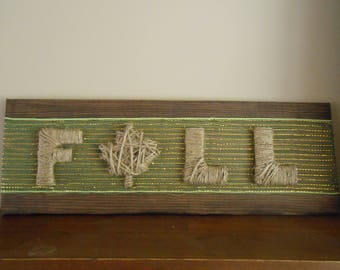 Rustic FALL Reclaimed Pallet Wood Sign