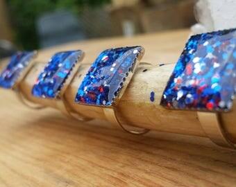 Patriotic glam sparklers