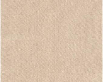 Kahki Tan Kona Solid Fabric by Robert Kaufman - 100% Cotton- Kona Cotton - K001-1187