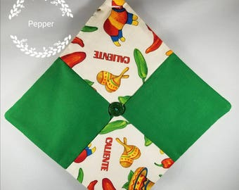 Free Ship! Select Your Style - Handmade Decorative Fruit/Peppers Quilted Pot Holders