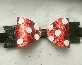 Minnie inspired bow