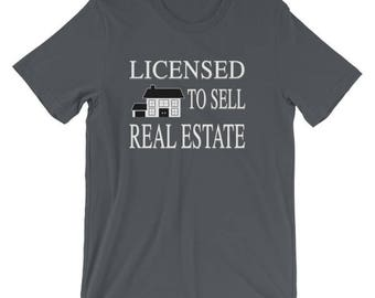 Licensed to Sell Real Estate Cute Realtor Design for Realtors