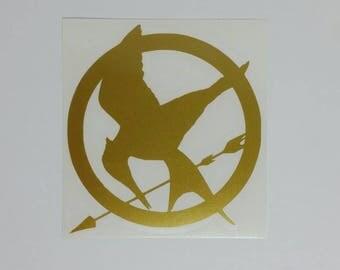 Hunger Games Mockingjay Vinyl Decal