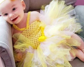 My little sunshine tutu dress