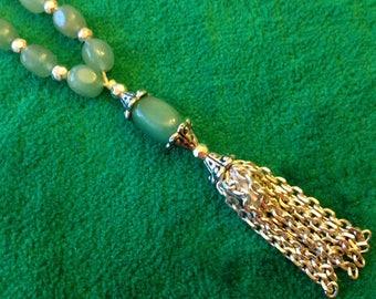 Adorable Mini Green Aventurine Prayer Beads