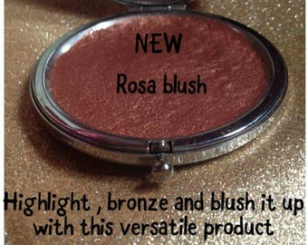 Highlight , bronze and blush it up