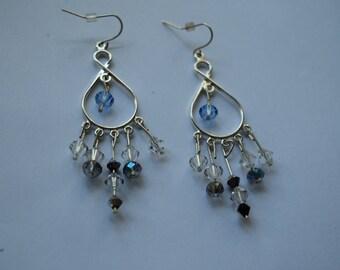 swarvoski crystal earrings