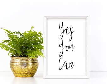 Printable Inspirational Wall Art, Quote, Motivational, Dorm ,Desk, Home, Decor, Modern, Cute, Instant Download, Trending Now