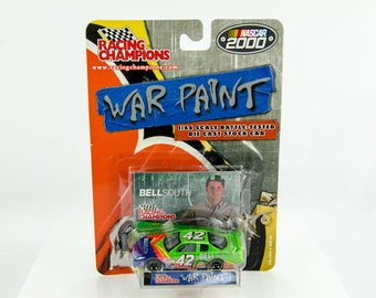 Rare Racing Champions War Paint Kenny Irwin #42 1/64 Diecast