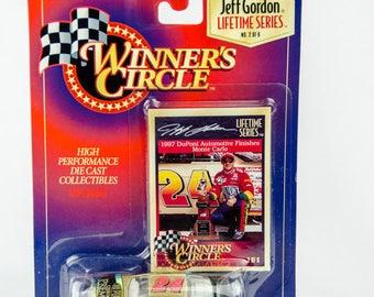 Winners Circle Jeff Gordon Lifetime Series # 24 Premier Dupont 1/64 Diecast Car