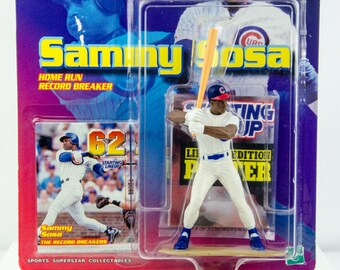 Starting Lineup MLB Sammy Sosa Home Run Record 62 Action Figure - Chicago Cubs