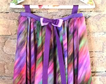 Girls skirt, Girls rainbow skirt, girls full circle skirts, girls back to school, colorful girls' skirts, toddlers, toddlers skirt rainbow