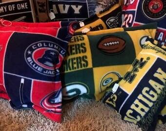 Fleece Throw Pillows