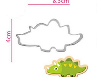 Triceratops Dinosaur Cookie Cutter - Animal Fondant Biscuit Mold - Pastry Baking Tool Set