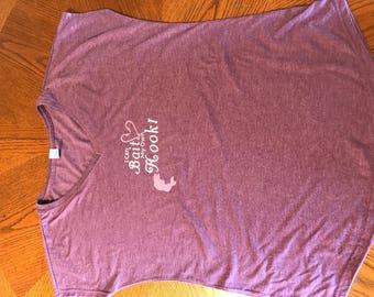 Puple t-shirt