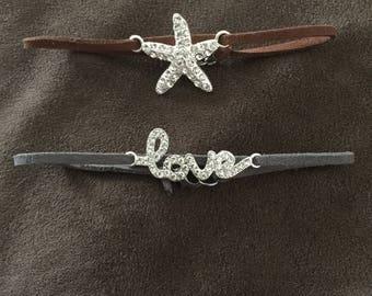 Suede Cord Bracelets