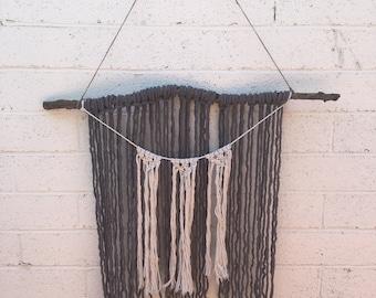 Yarn Wall Macrame Hanging | Macrame Wall Hanging | Yarn Wall Hanging