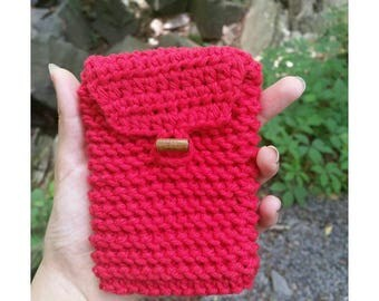 Vibrant red coinpurse