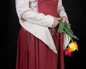 Dress for medieval festivals, a wedding theme or other circumstances.