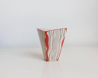 Vintage 20's 30's Kensington Ware Hand Painted Vase