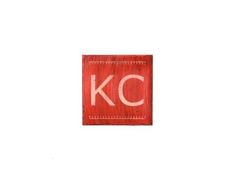 Kansas City Pride Plaque, Custom Kansas City Wall Art, KC Pride, Hometown Pride, Kansas City Wall Decor, Custom KC Decor, Kansas City Plaque