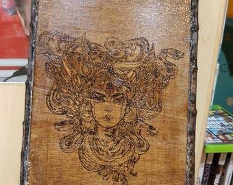 Medusa-ash picture