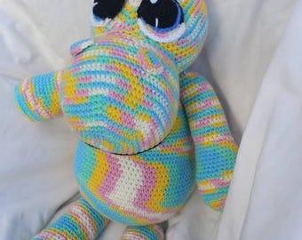 Rainbow Hippo