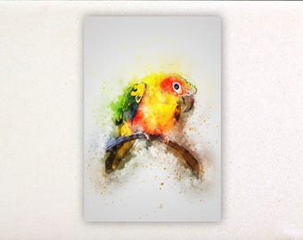 Bird - Watercolor prints, watercolor posters, nursery decor, nursery wall art, wall decor, wall prints 29 | Tropparoba 100% made Italy