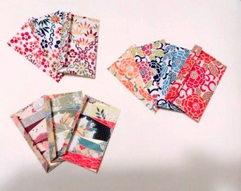mini envelopes set meny variation japan