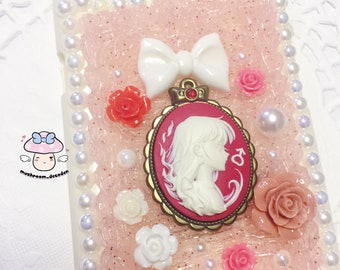 iPhone 6S Plus/6 Plus - Ready to Ship - Sailor Moon Vintage Sailor Mars Cameo Deocoden iPhone Case