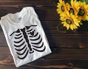 Skeleton Halloween shirt | Halloween T Shirt | Custom T Shirt | Create Your Own T Shirt | Custom Sayings | Graphic Tees | T Shirts