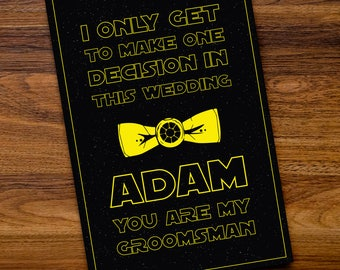 Groomsmen Invitation