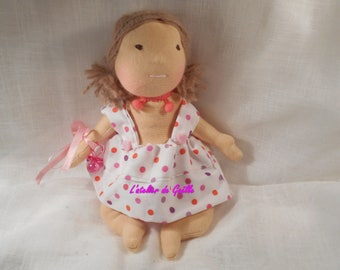 Erin Baby Waldorf 22 cm comes with clothing and pacifier