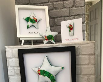 The very hungry caterpillar personalised picture