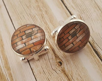 Brick Cufflinks