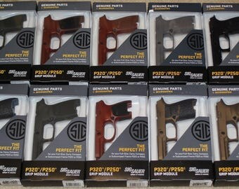 Cerakote your Sig Sauer P320 grip in your choice of color with grips left black.