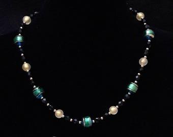 Murano Emerald Necklace