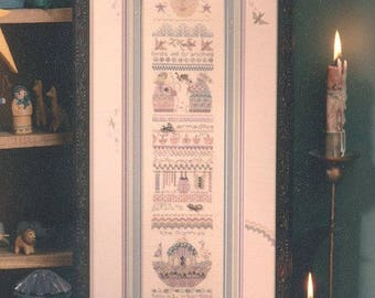 """SHEPHERD'S BUSH """"The Promise"""" Counted Cross Stitch Kit - Kit Includes Linen Fabric, Silk Thread, Beads, Charms - Retails 42.00"""