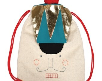 Nutcracker Backpack, Luxury Themed Backpack, Meri Meri, Luxury Nutcracker Backpack