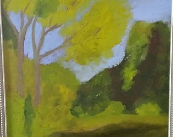 The Beauty of Par - Golf course Oil painting 9x12