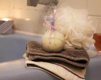 3 all natural bath bombs - DETOX